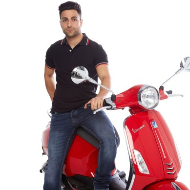 PTS131RED-VESPA